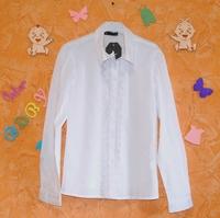 Белая рубашка для девочек