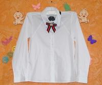 Блузка белая с украшением