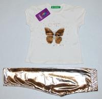 Костюм с бабочкой